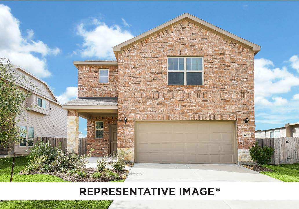 Exterior featured in the Gladewater By HistoryMaker Homes    in Houston, TX
