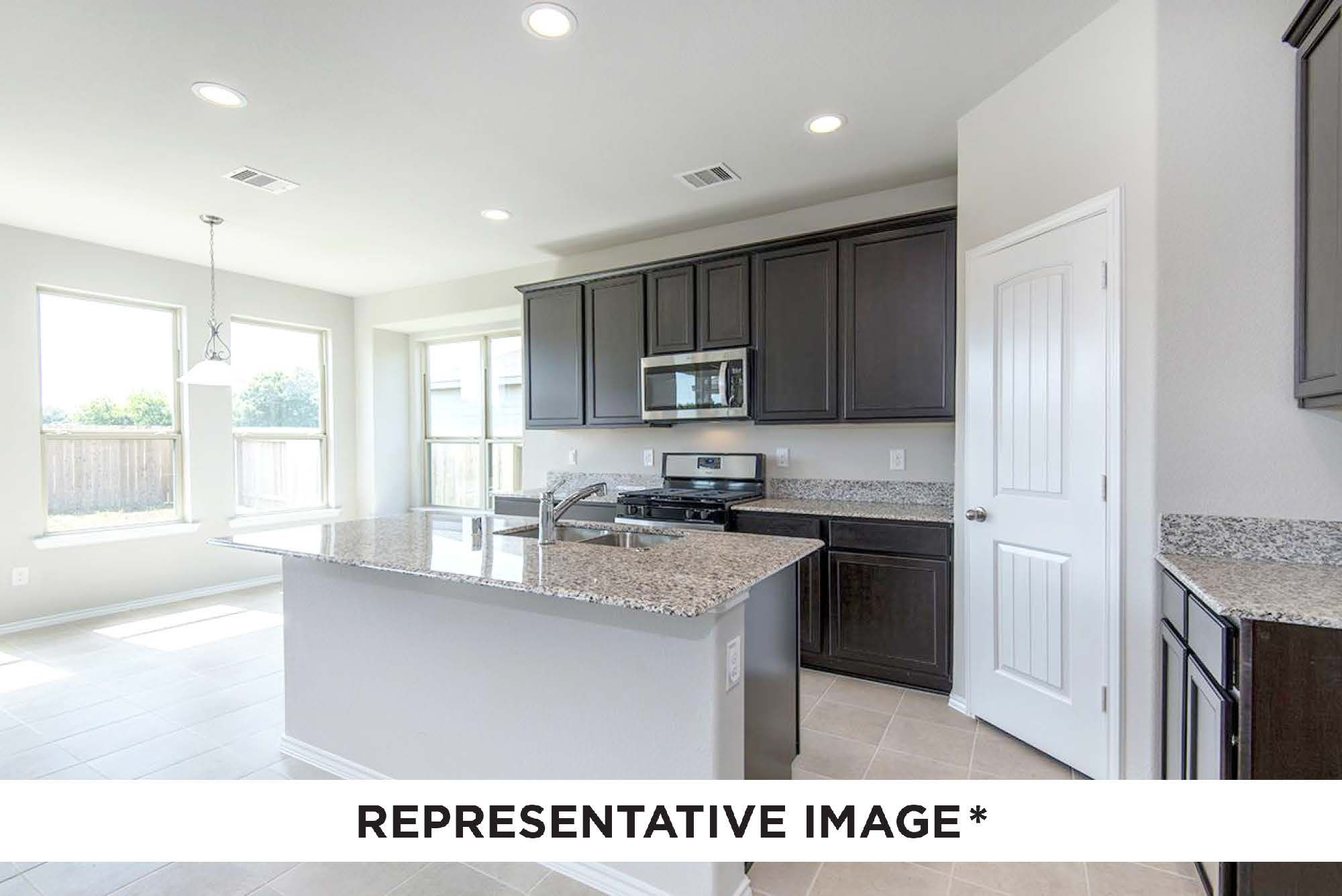 Kitchen featured in the Gladewater By HistoryMaker Homes    in Houston, TX