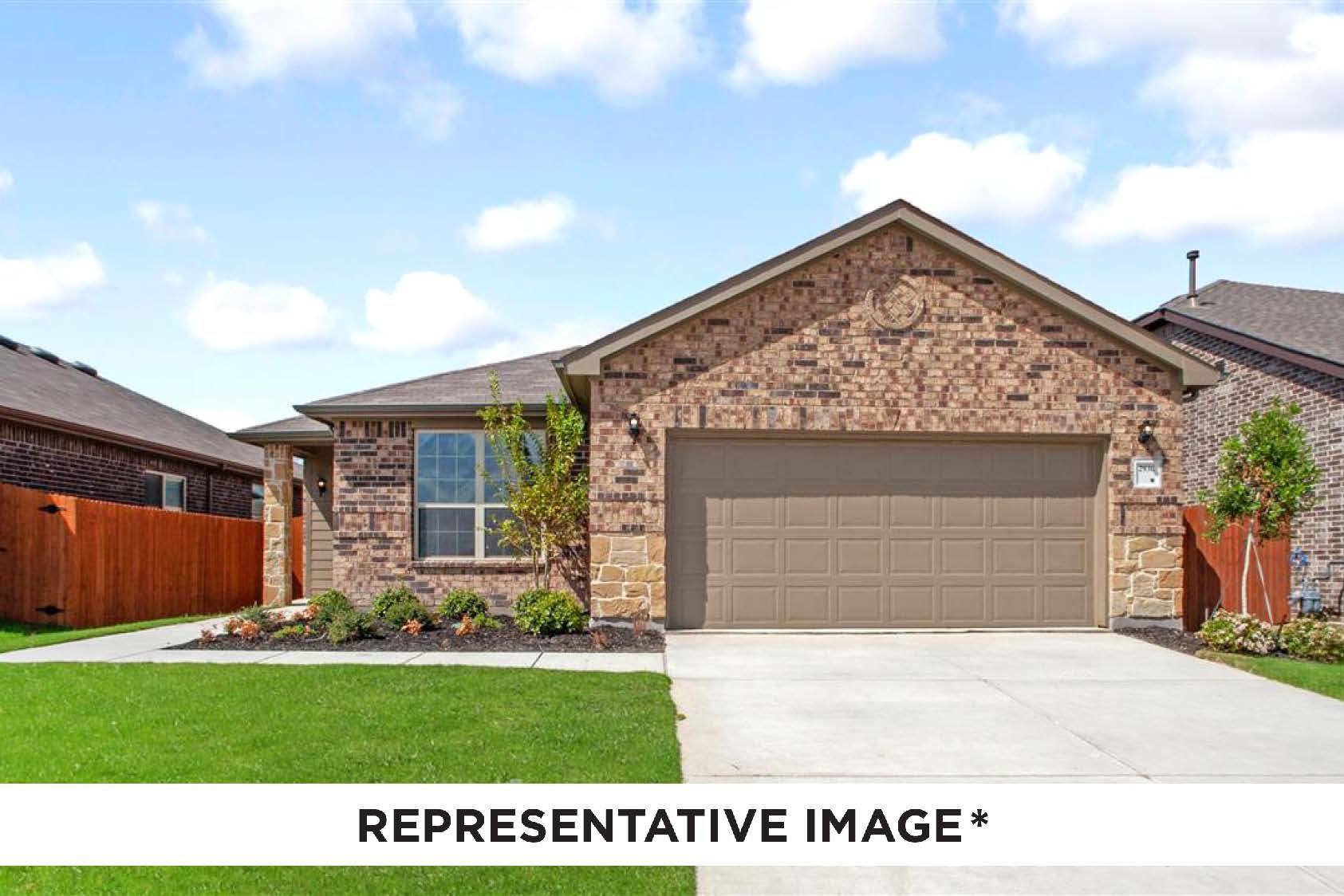 Exterior featured in the Dogwood By HistoryMaker Homes    in Sherman-Denison, TX