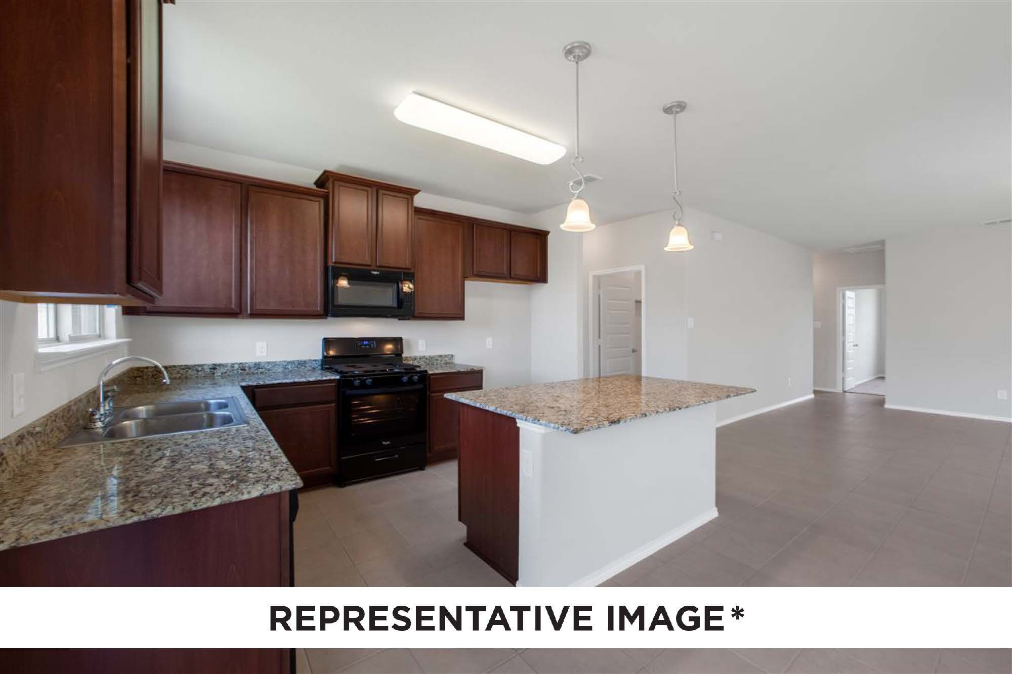 Kitchen featured in the Dogwood By HistoryMaker Homes    in Sherman-Denison, TX
