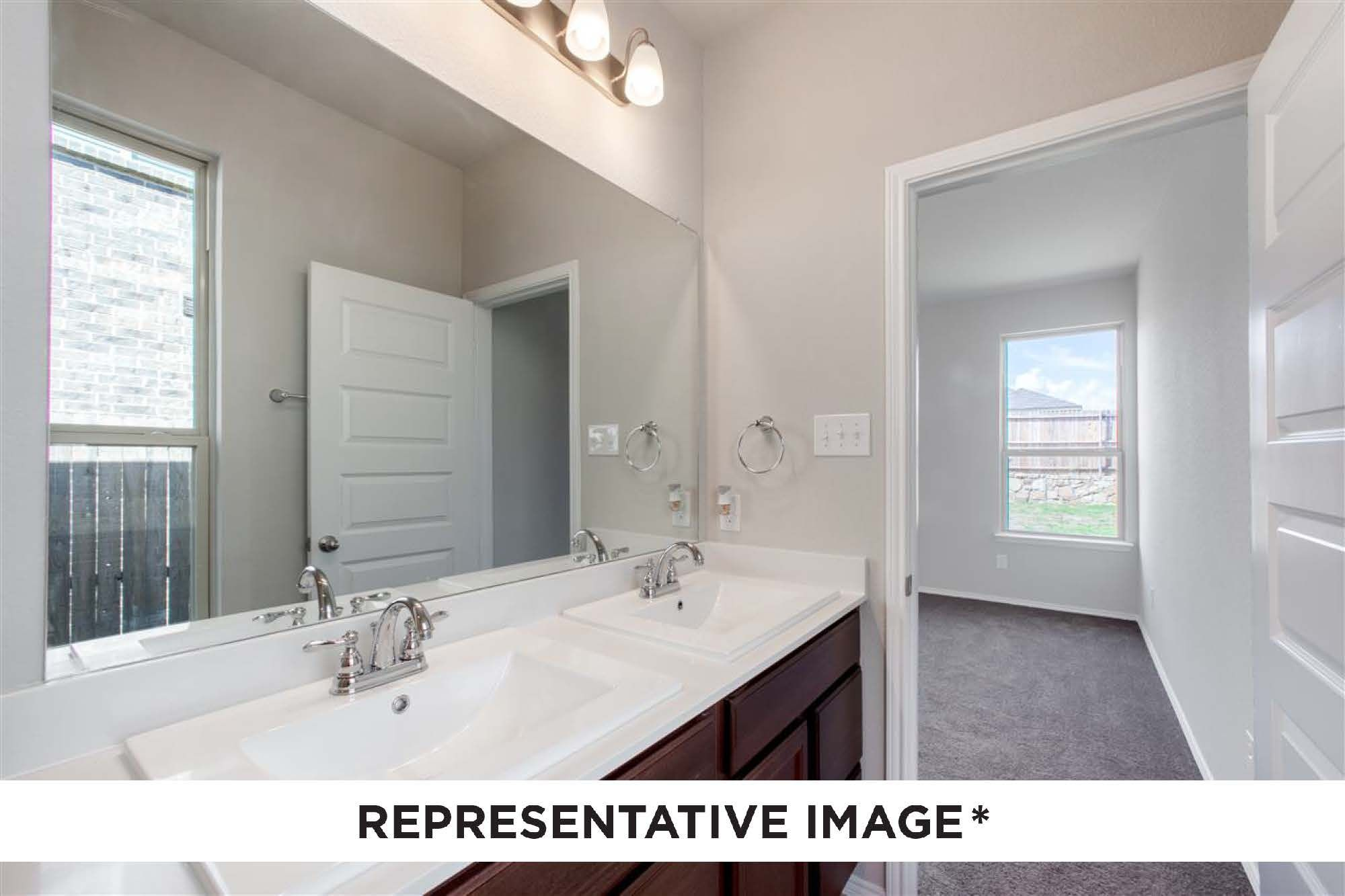 Bathroom featured in the Dogwood By HistoryMaker Homes    in Sherman-Denison, TX