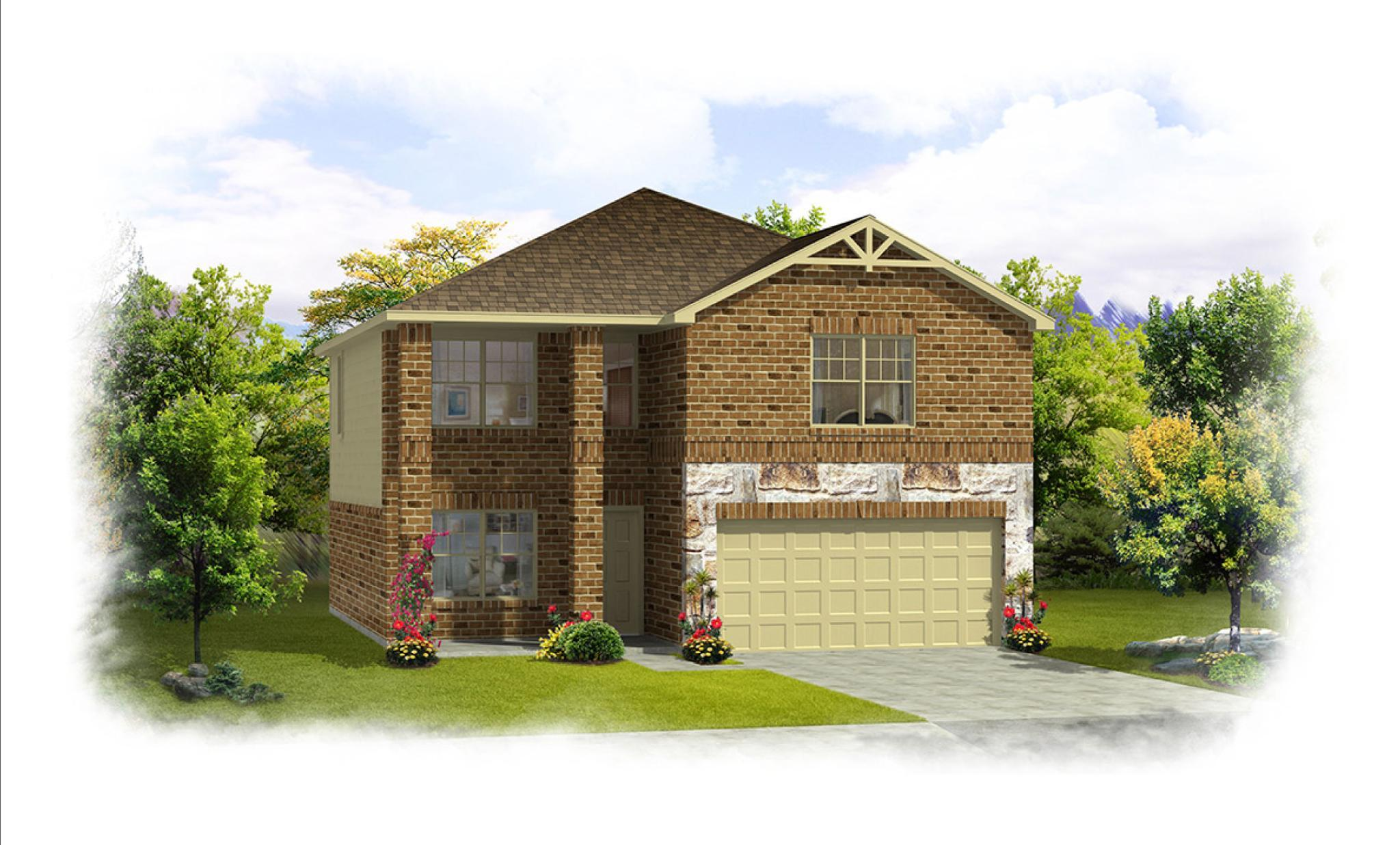 Exterior featured in the Hazel By HistoryMaker Homes    in Sherman-Denison, TX