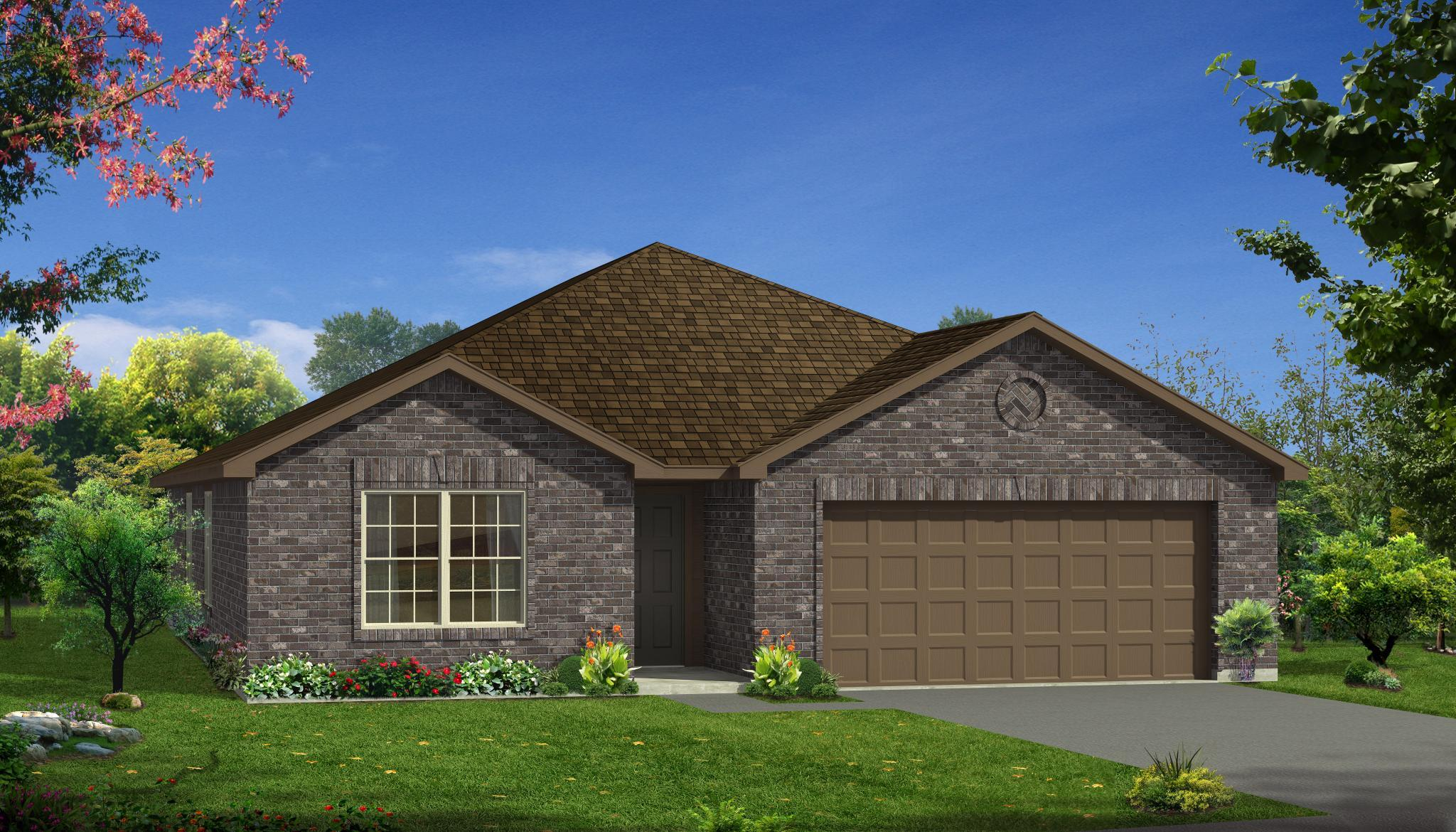 Exterior featured in the Emory By HistoryMaker Homes    in Sherman-Denison, TX