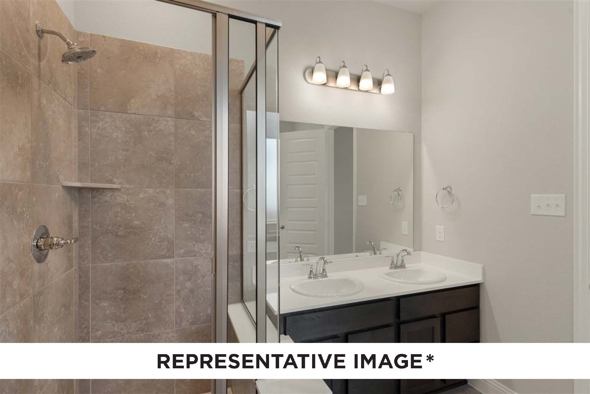 Bathroom featured in the Emory By HistoryMaker Homes    in Sherman-Denison, TX