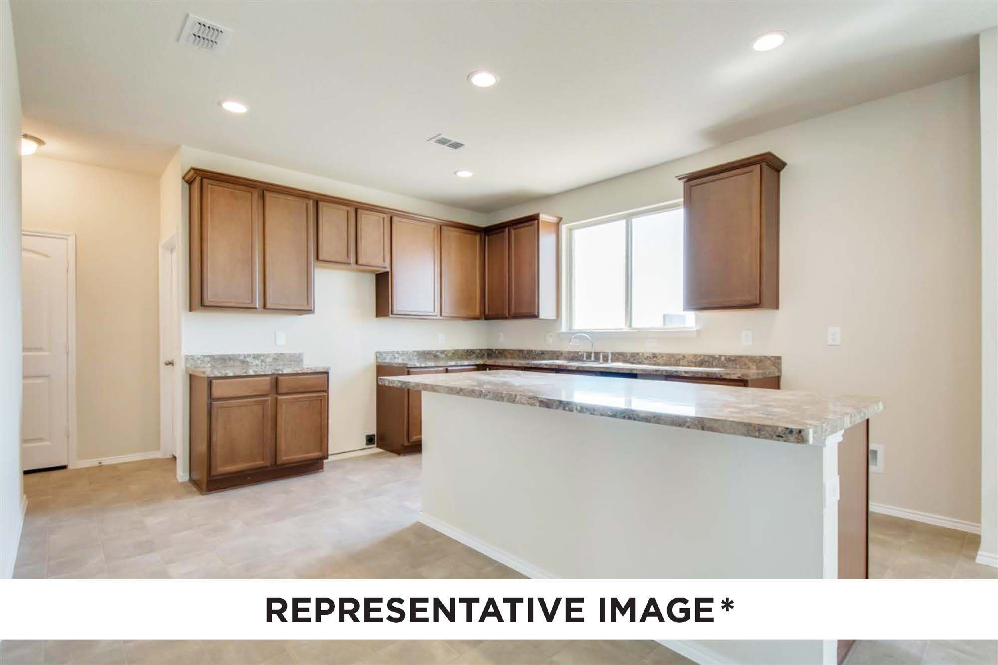 Kitchen featured in the Magnolia By HistoryMaker Homes    in Sherman-Denison, TX