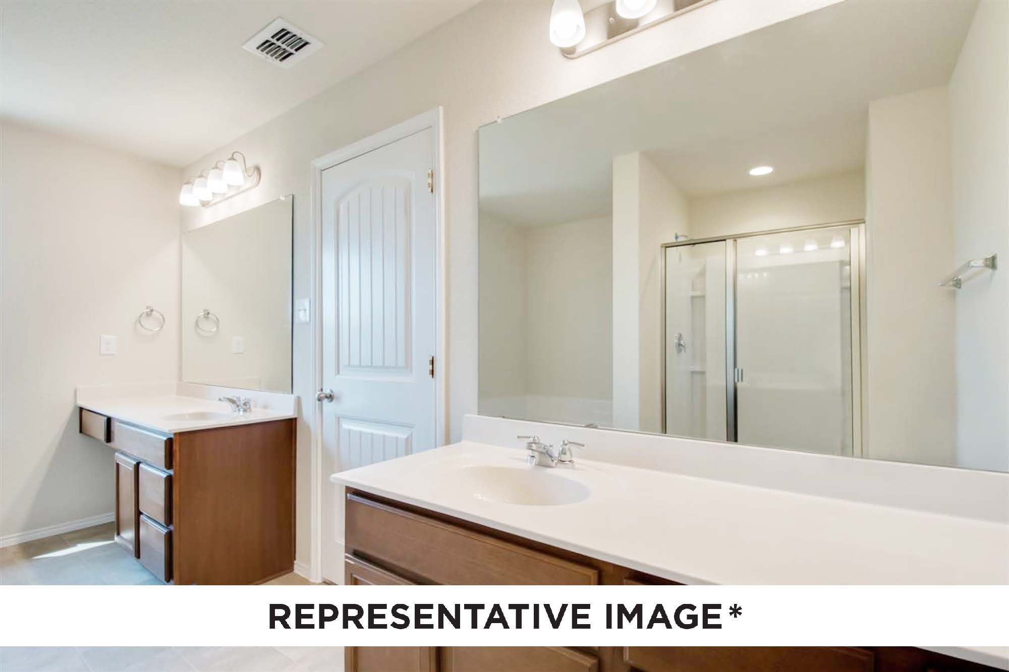 Bathroom featured in the Magnolia By HistoryMaker Homes    in Sherman-Denison, TX