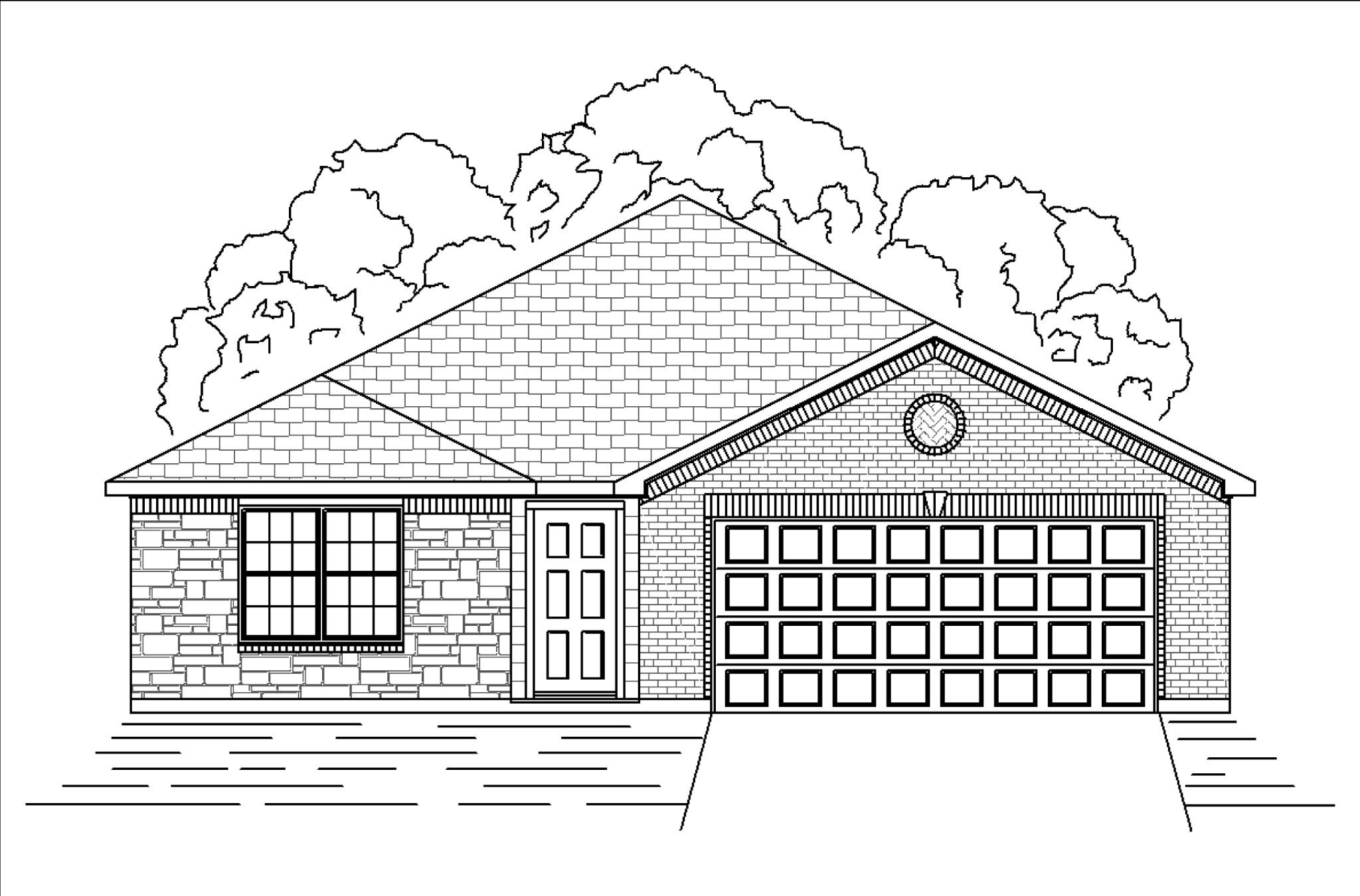 Exterior featured in the Birch By HistoryMaker Homes    in Sherman-Denison, TX