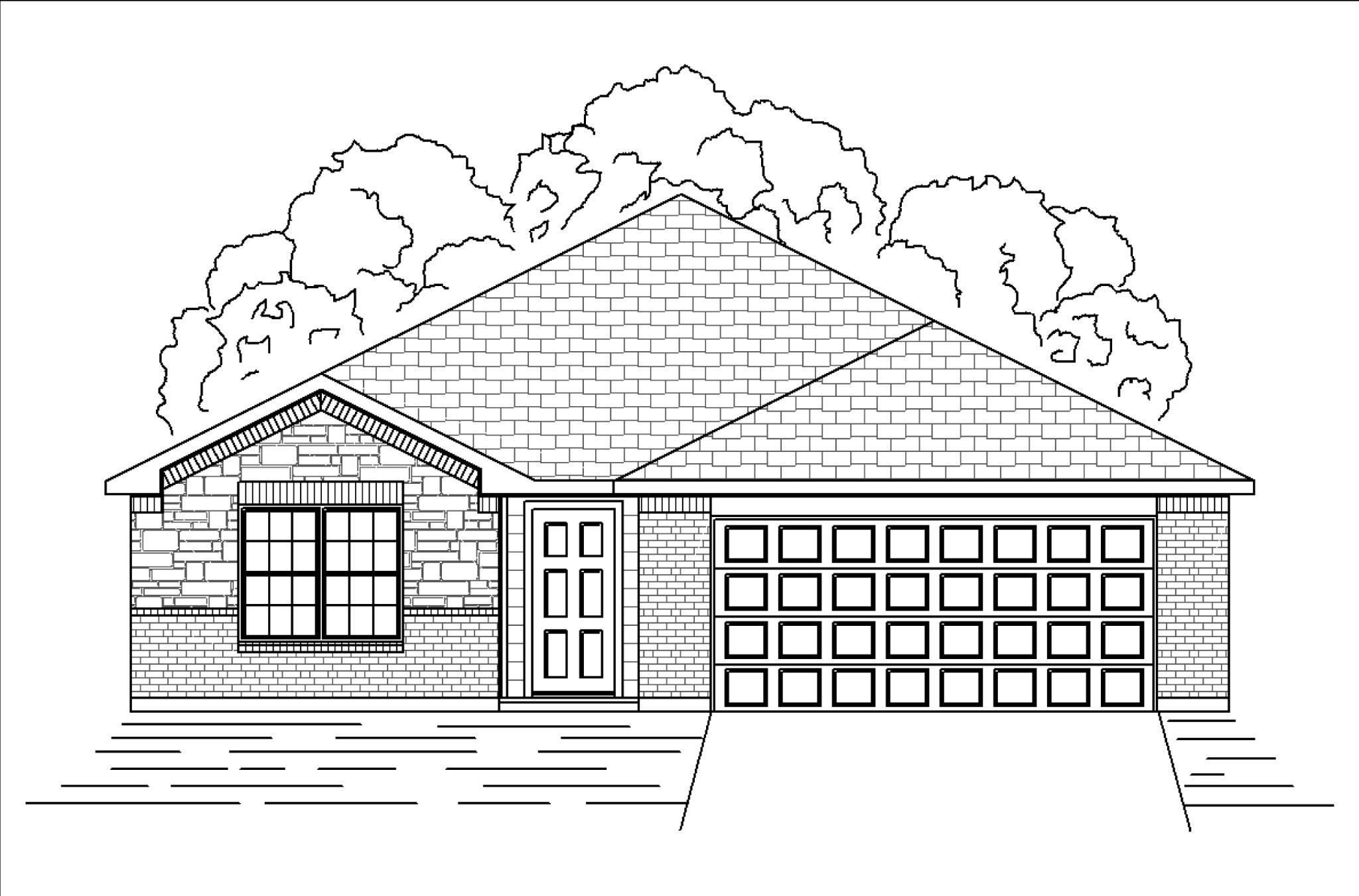 Exterior featured in the Aspen By HistoryMaker Homes    in Sherman-Denison, TX