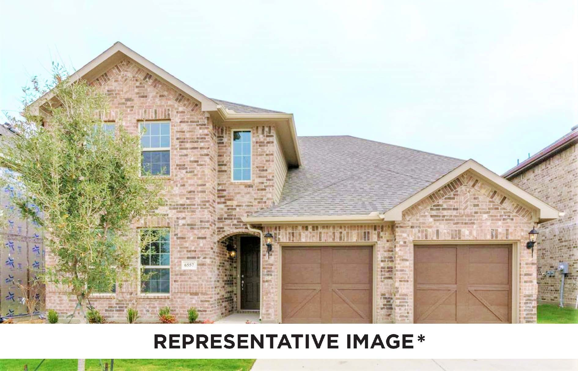 Exterior featured in the Sequoia By HistoryMaker Homes    in Houston, TX