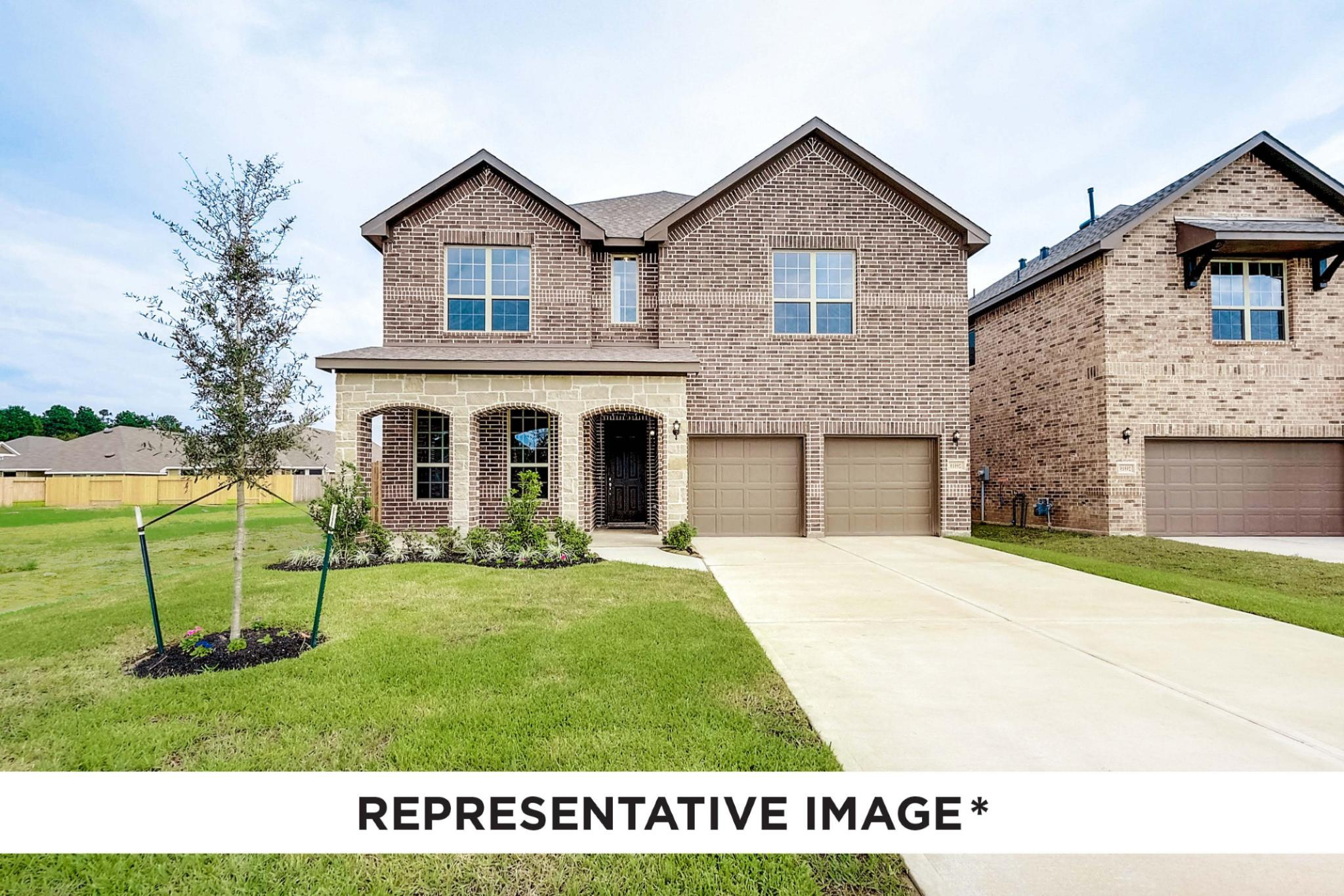 Exterior featured in the Alder By HistoryMaker Homes    in Houston, TX