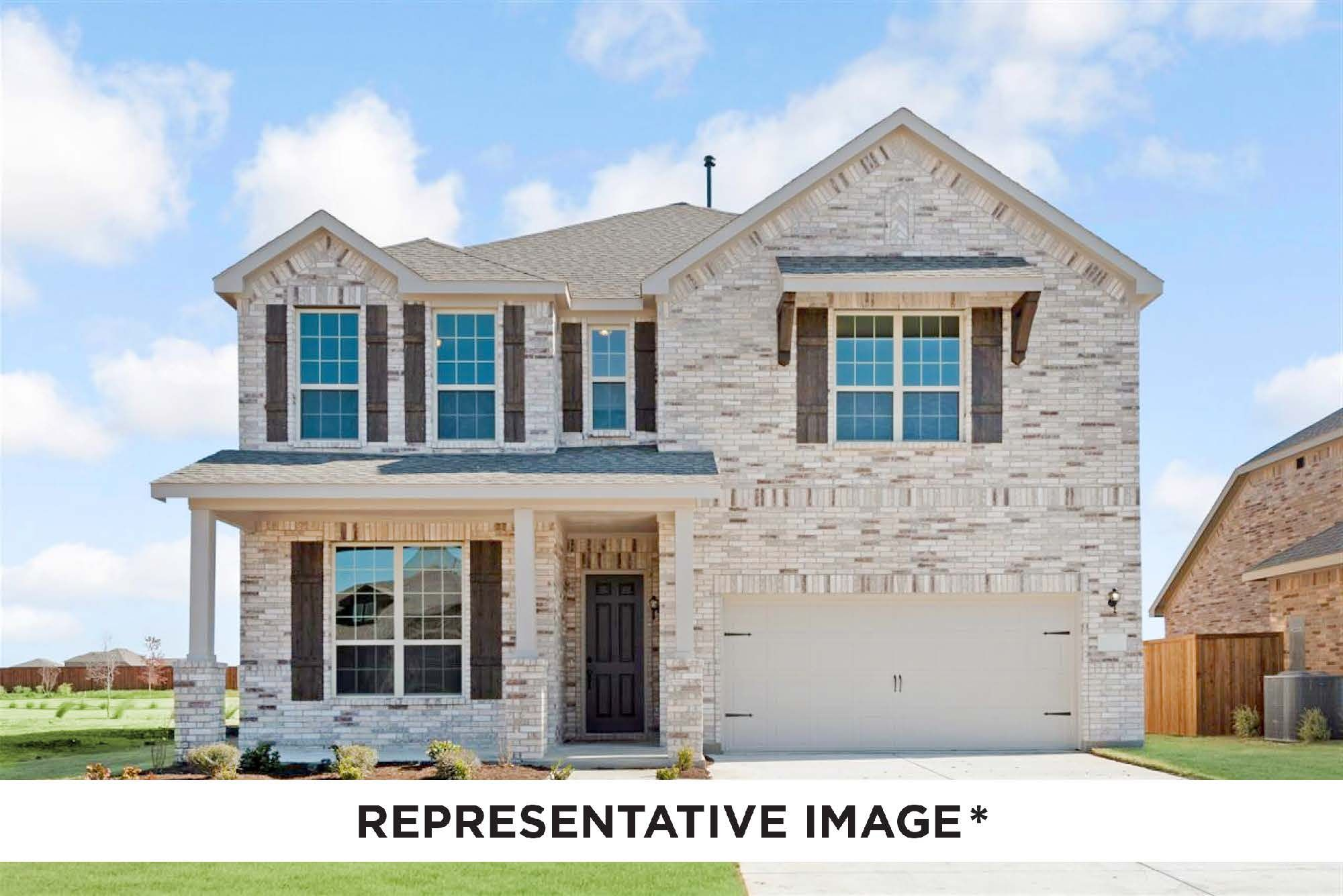 Exterior featured in the Cypress By HistoryMaker Homes    in Dallas, TX