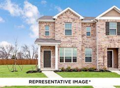 Crockett - Brentwood Place Townhomes: Denton, Texas - HistoryMaker Homes
