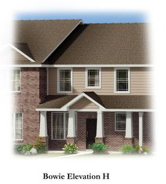 Bowie - Brentwood Place Townhomes: Denton, Texas - HistoryMaker Homes