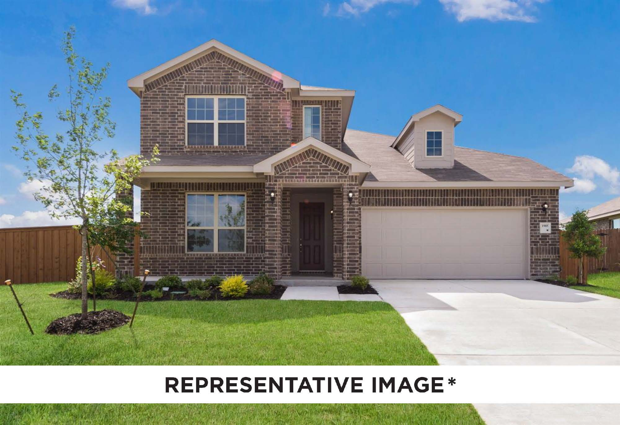 Exterior featured in the Mahogany By HistoryMaker Homes    in Houston, TX
