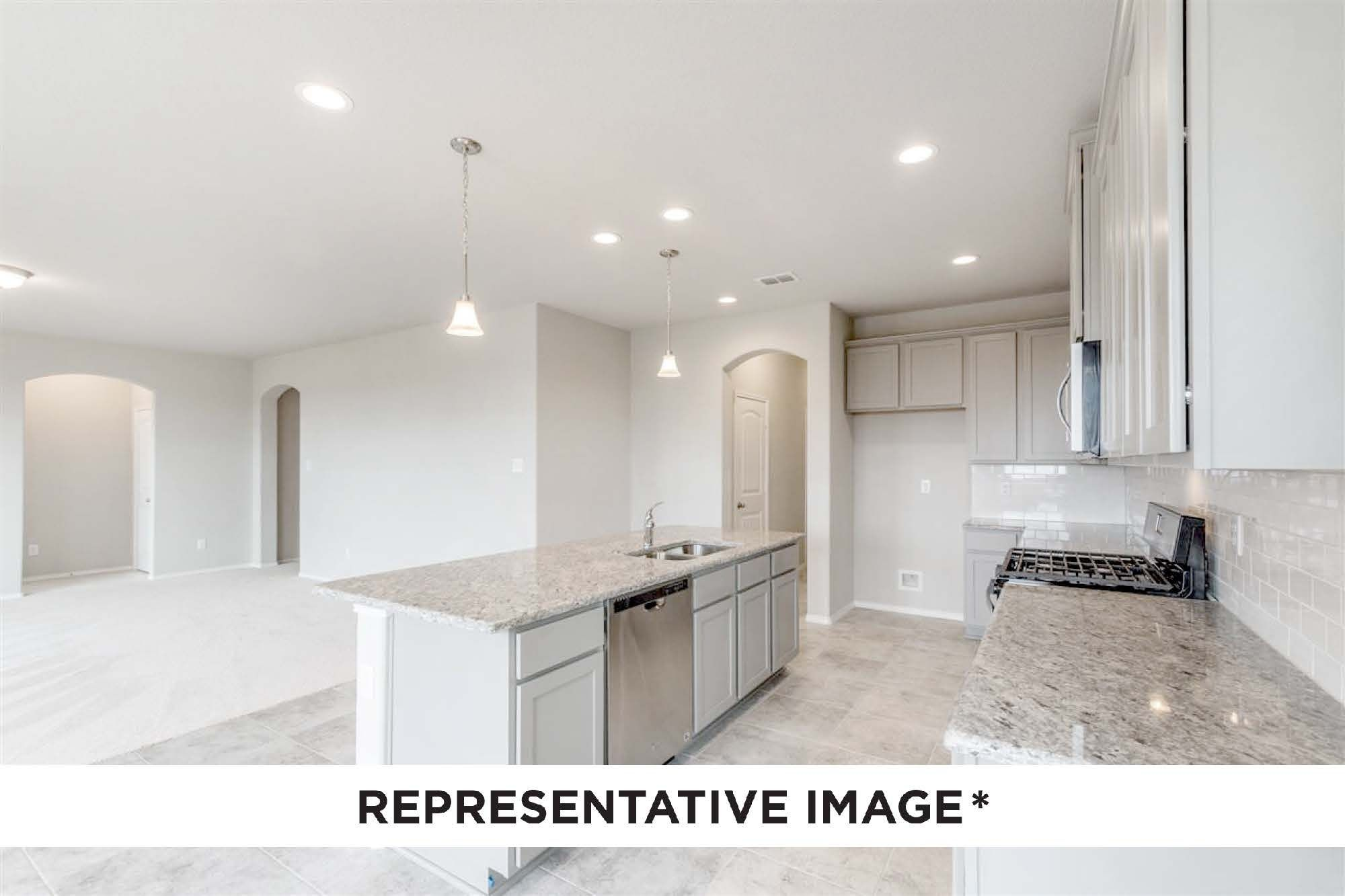 Kitchen featured in the Jefferson By HistoryMaker Homes    in Houston, TX