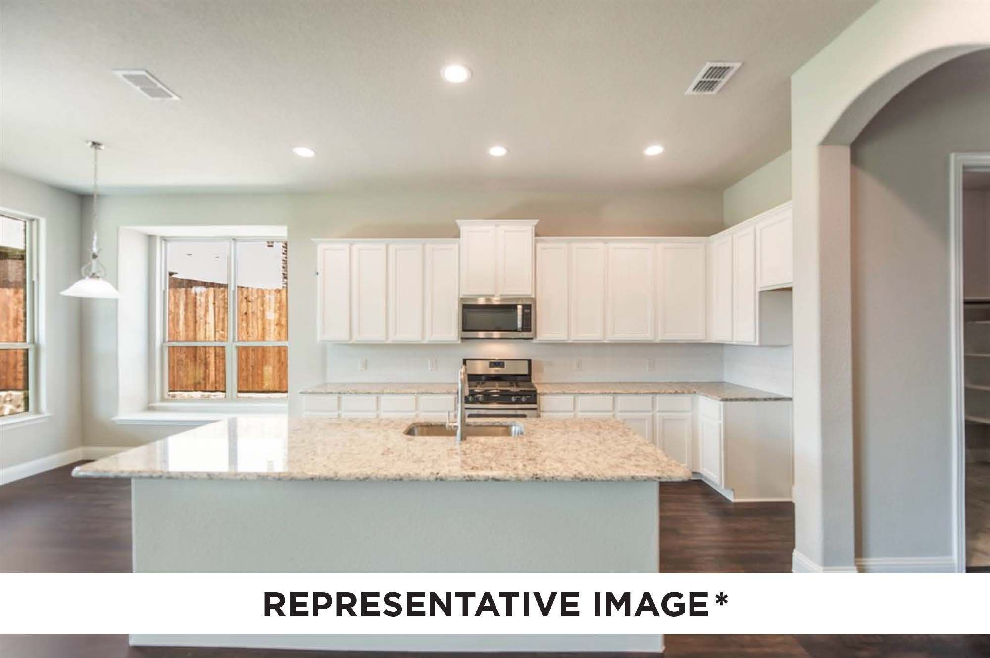 Kitchen featured in the Washington By HistoryMaker Homes    in Houston, TX