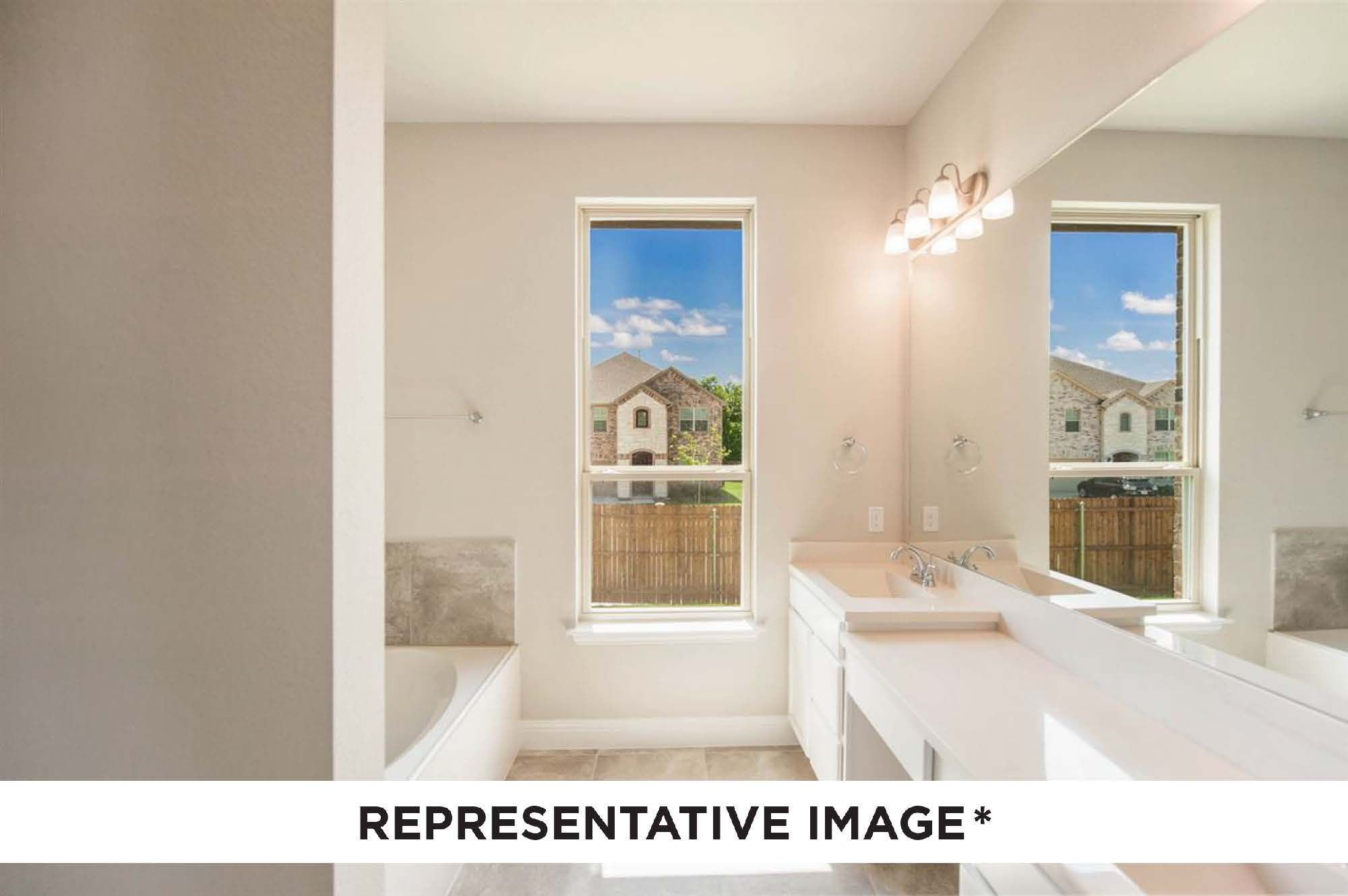 Bathroom featured in the Washington By HistoryMaker Homes    in Houston, TX