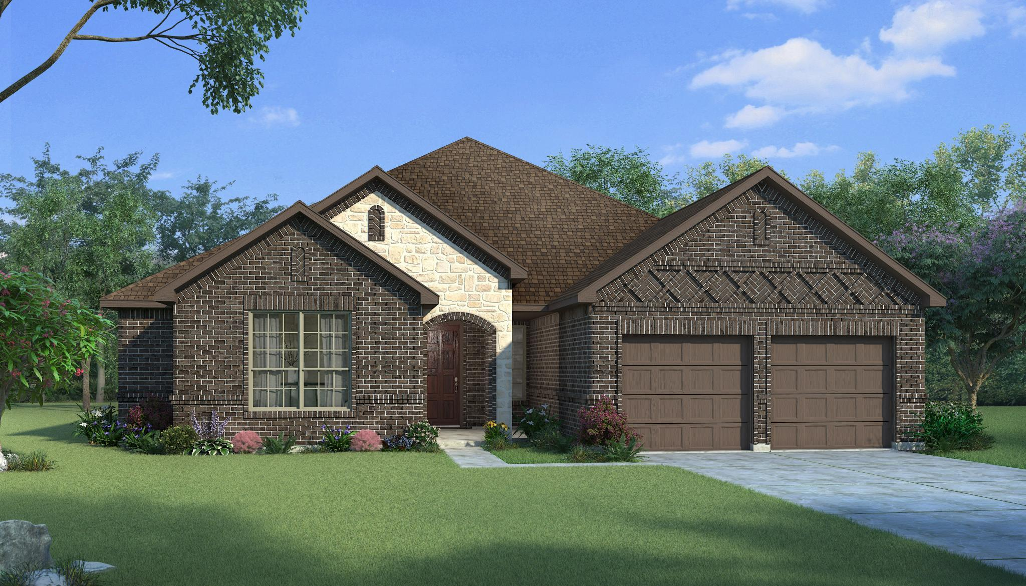 Exterior featured in the Jefferson By HistoryMaker Homes    in Houston, TX
