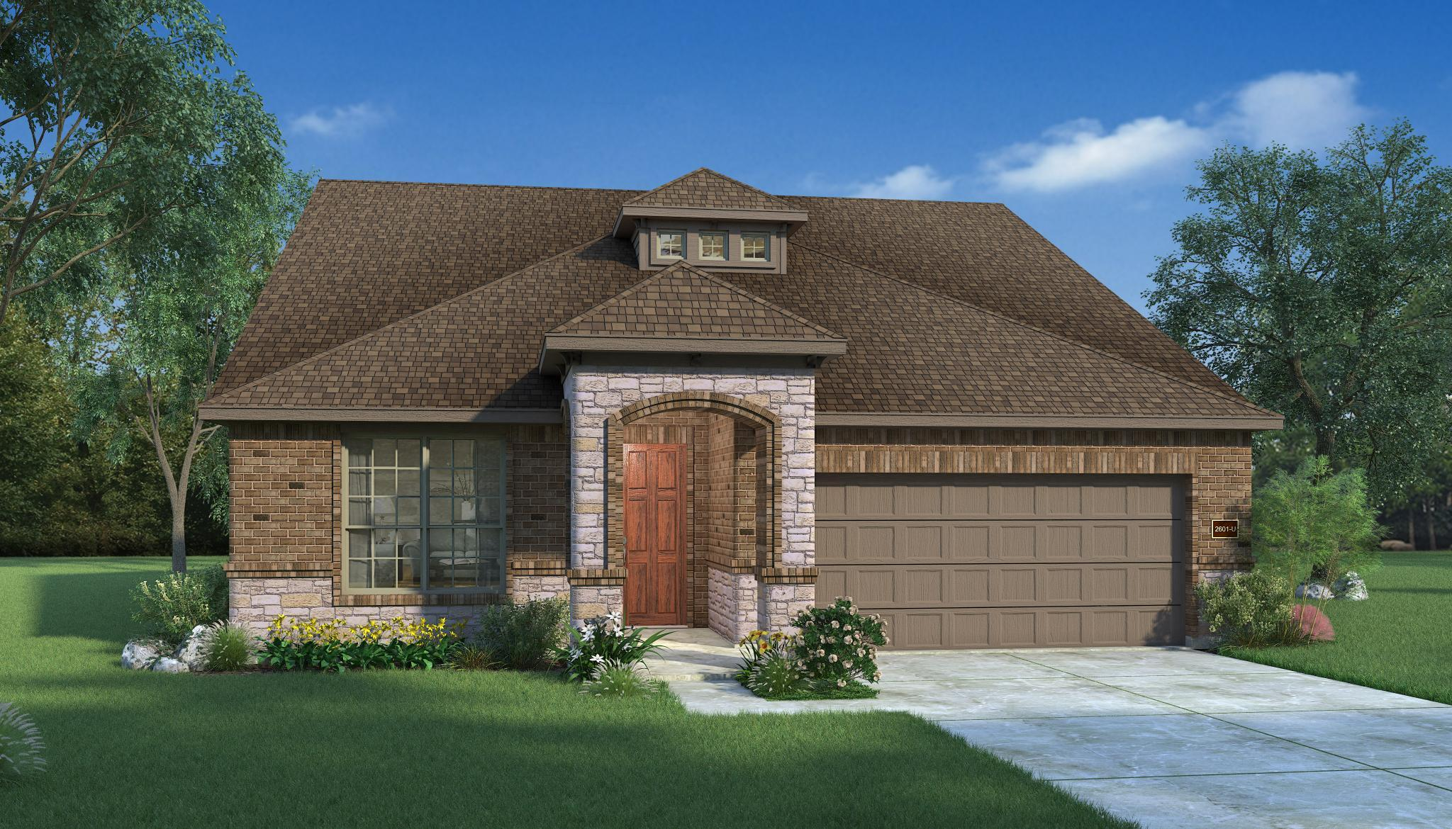 Exterior featured in the Walnut By HistoryMaker Homes    in Houston, TX