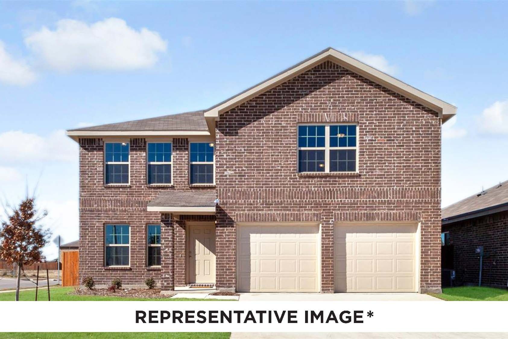 Exterior featured in the Magnolia By HistoryMaker Homes    in Sherman-Denison, TX
