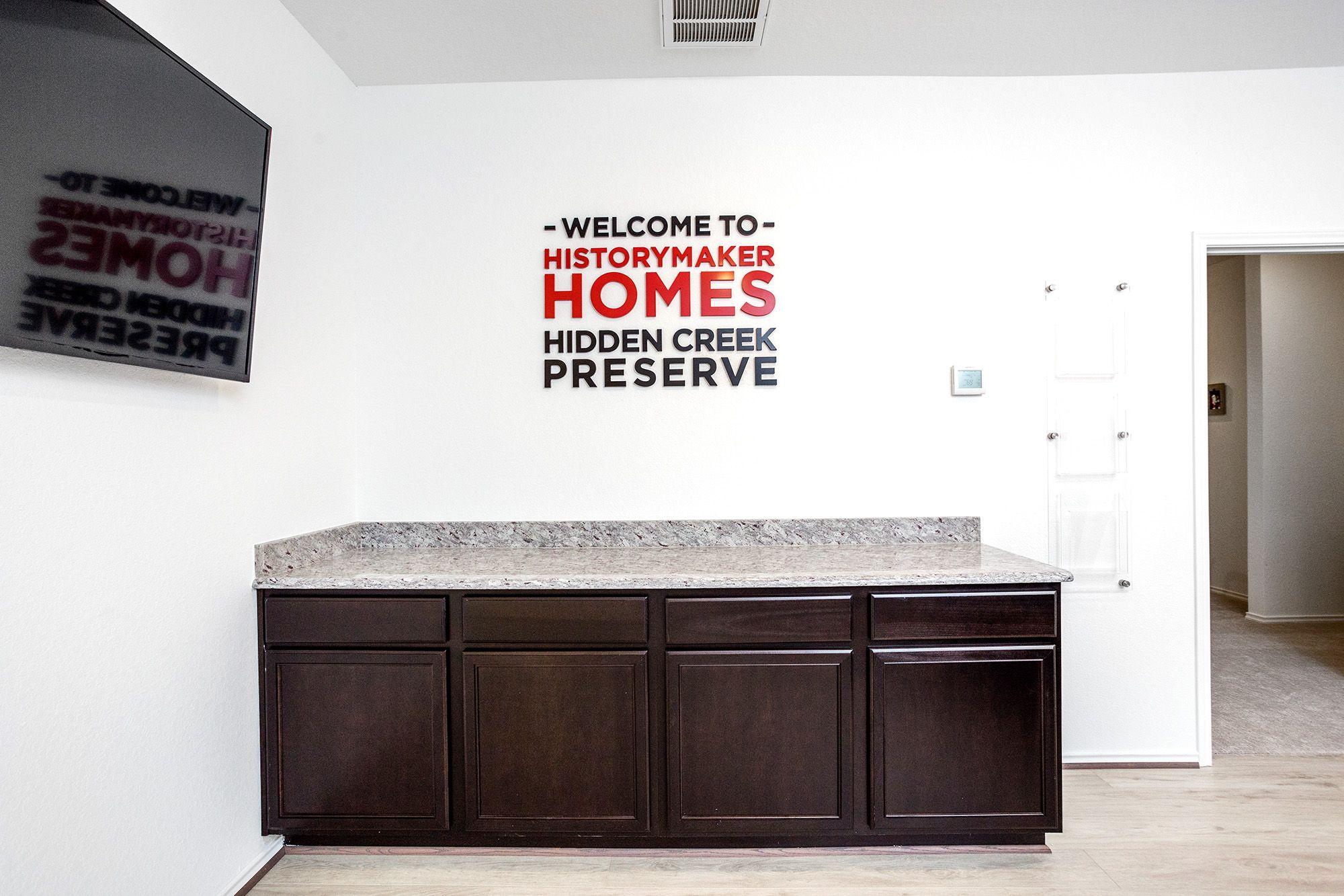'Hidden Creek Preserve' by HistoryMaker Homes in Houston