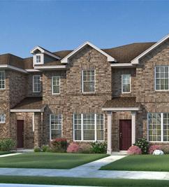 Crockett - Heartland Townhomes: Heartland, Texas - HistoryMaker Homes