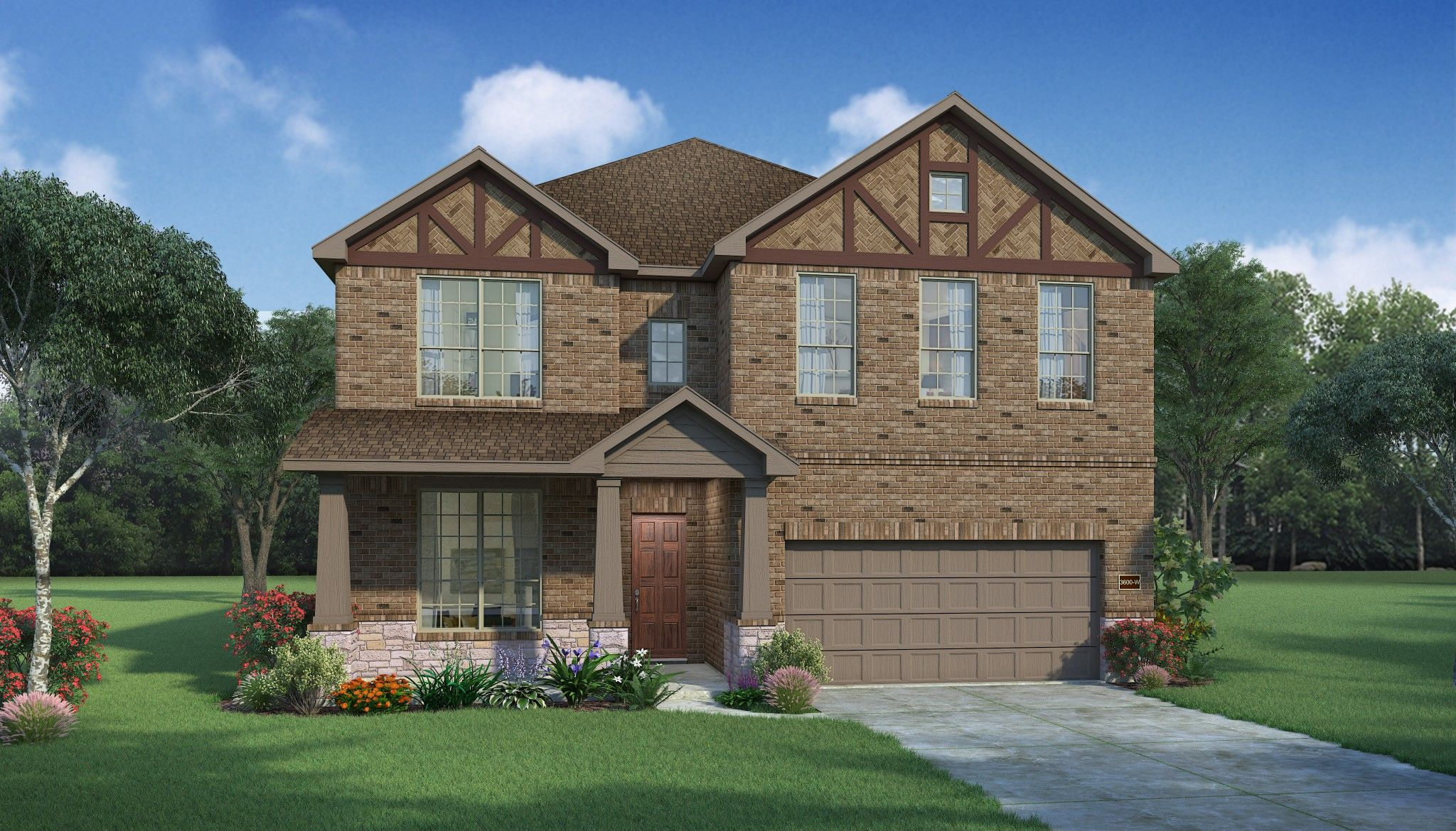 Exterior featured in the Boxwood By HistoryMaker Homes    in Houston, TX