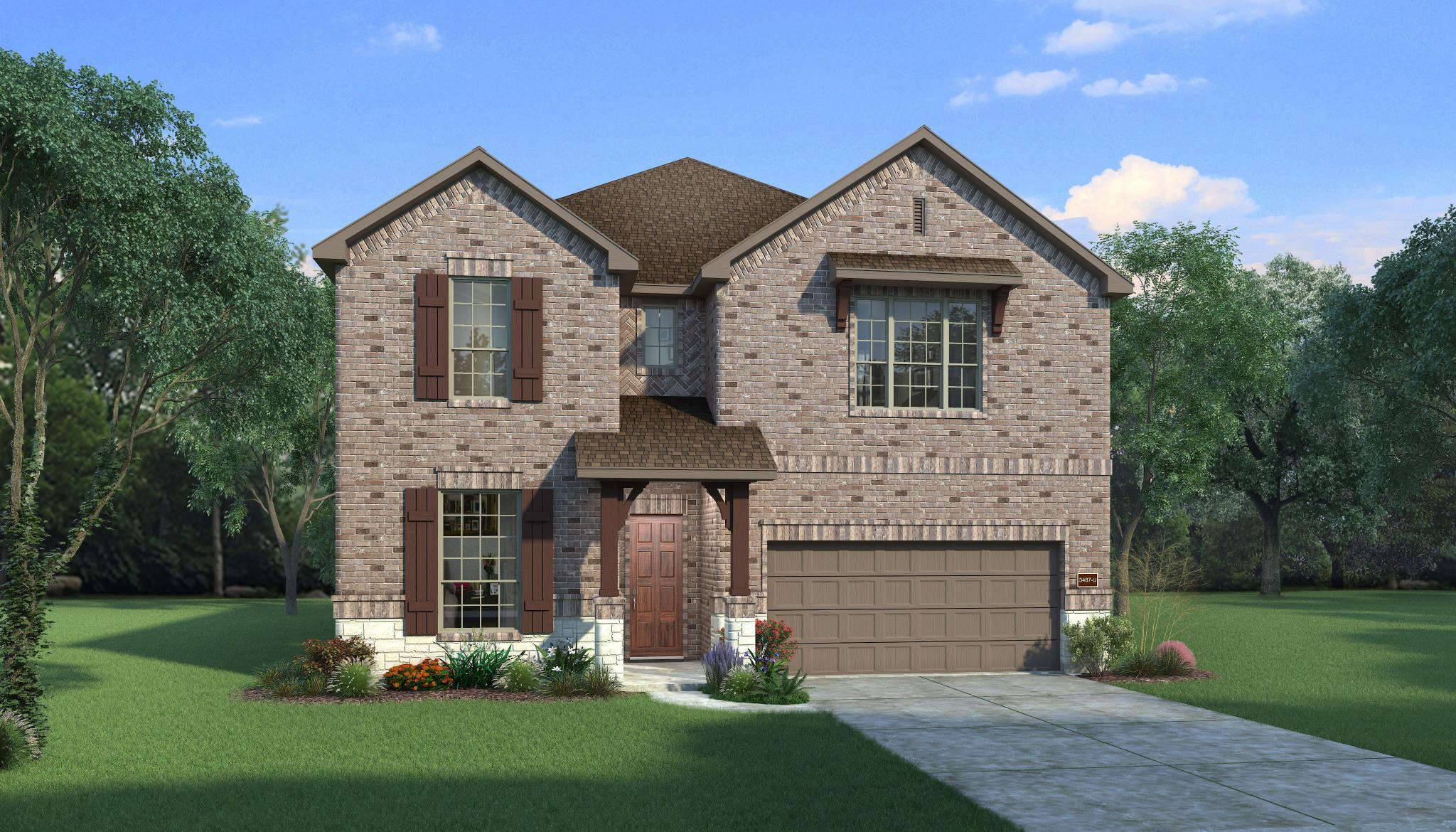 Exterior featured in the Axlewood By HistoryMaker Homes    in Houston, TX