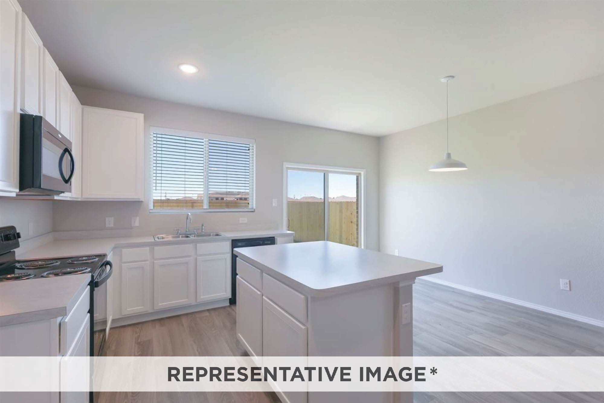 Kitchen featured in the Birch By HistoryMaker Homes    in Sherman-Denison, TX