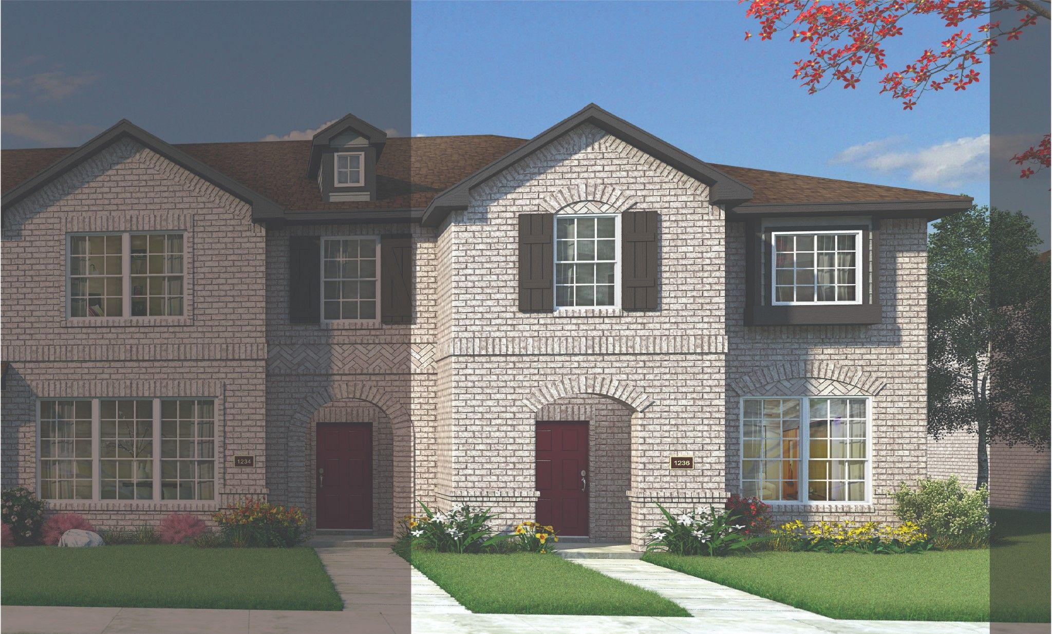 Exterior featured in the Andrews By HistoryMaker Homes    in Dallas, TX