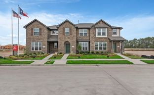 Balmoral Townhomes by HistoryMaker Homes in Houston Texas