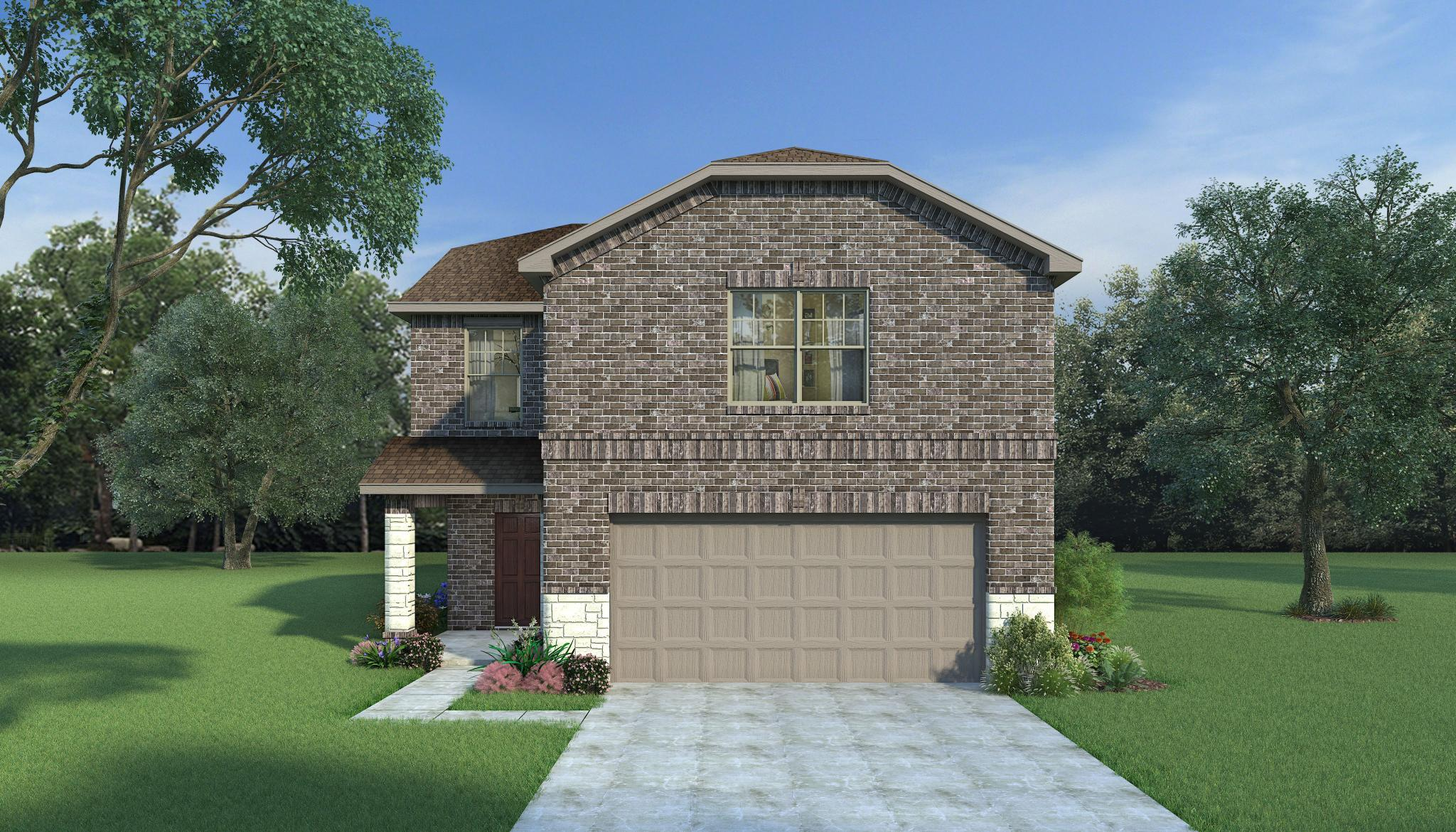 Exterior featured in the Sweetwater By HistoryMaker Homes    in Houston, TX