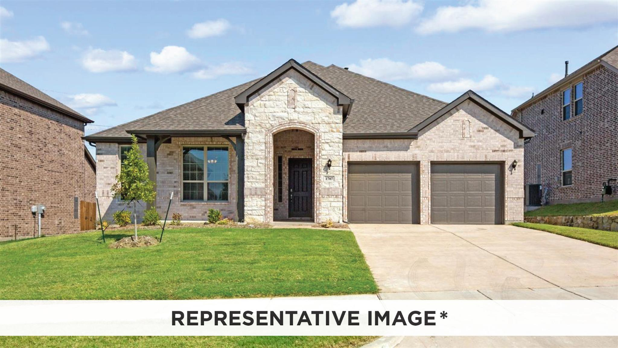 Exterior featured in the Adams By HistoryMaker Homes    in Houston, TX