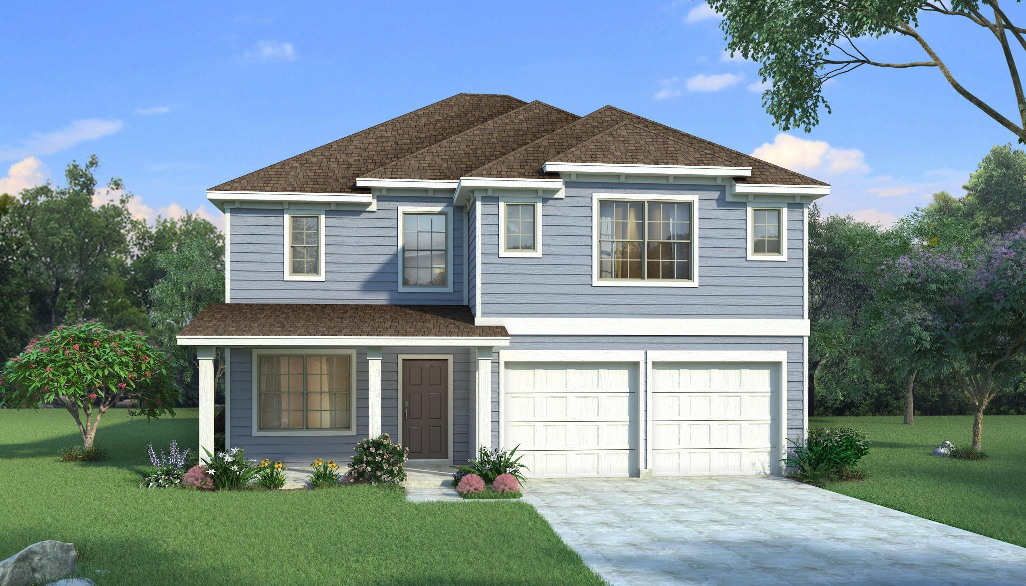Exterior featured in the Magnolia By HistoryMaker Homes    in Fort Worth, TX