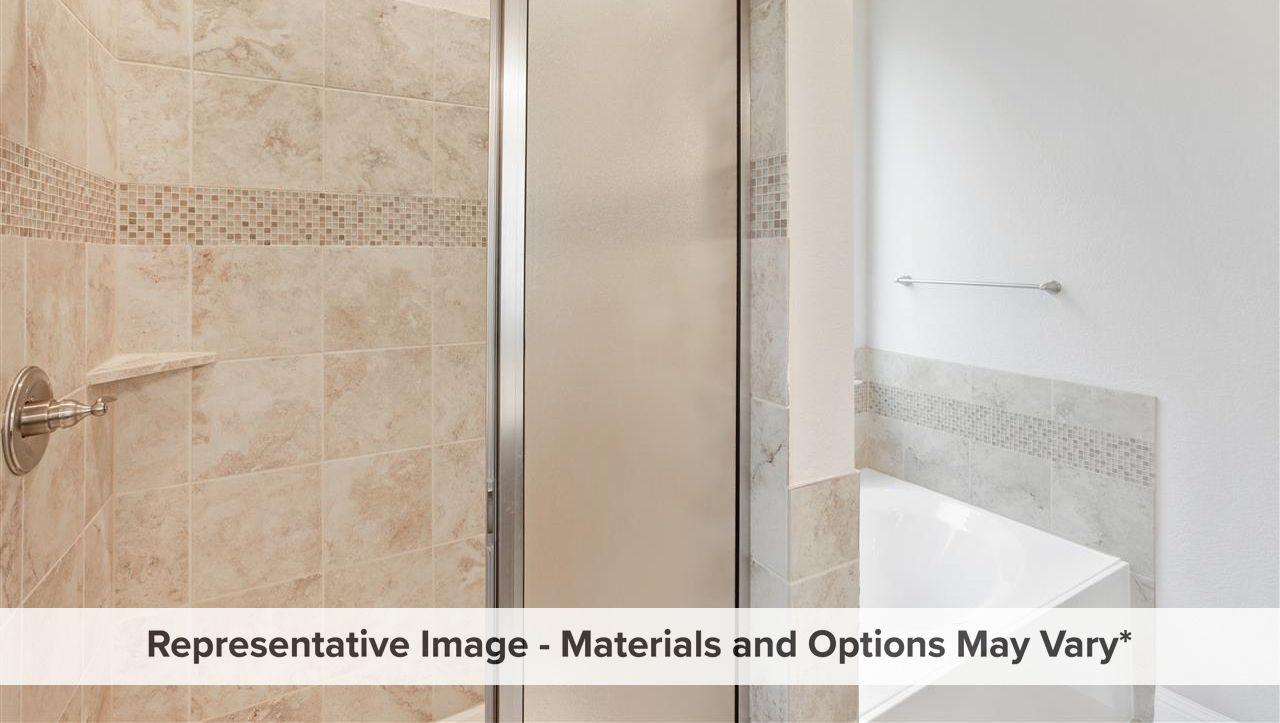 Bathroom featured in the Buckeye By HistoryMaker Homes    in Dallas, TX