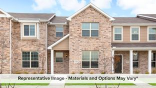 Bowie - Cloverleaf Crossing Townhomes: Mesquite, Texas - HistoryMaker Homes