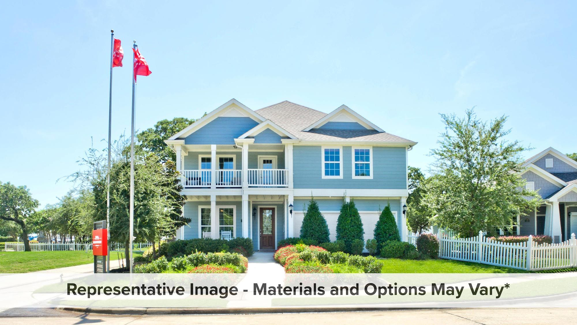 Exterior featured in the Cambridge By HistoryMaker Homes    in Fort Worth, TX