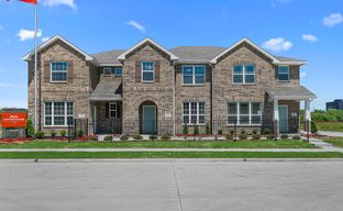 Cloverleaf Crossing Townhomes by HistoryMaker Homes in Dallas Texas