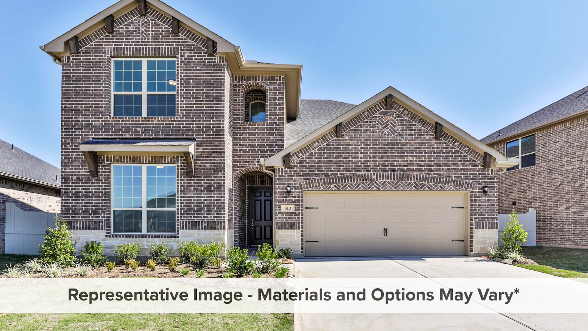 Exterior featured in the Ironwood By HistoryMaker Homes    in Dallas, TX
