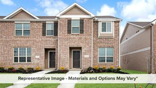 Houston - Brentwood Place Townhomes: Denton, Texas - HistoryMaker Homes