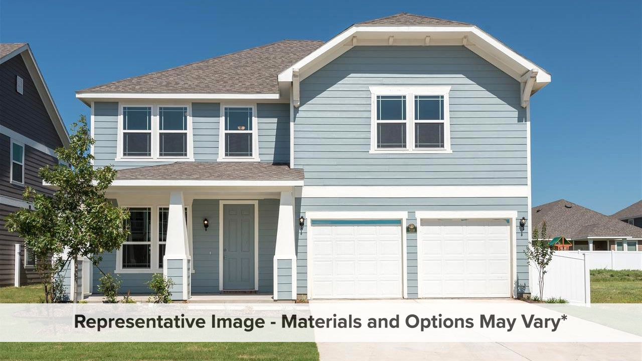 Exterior featured in the Melrose By HistoryMaker Homes    in Fort Worth, TX