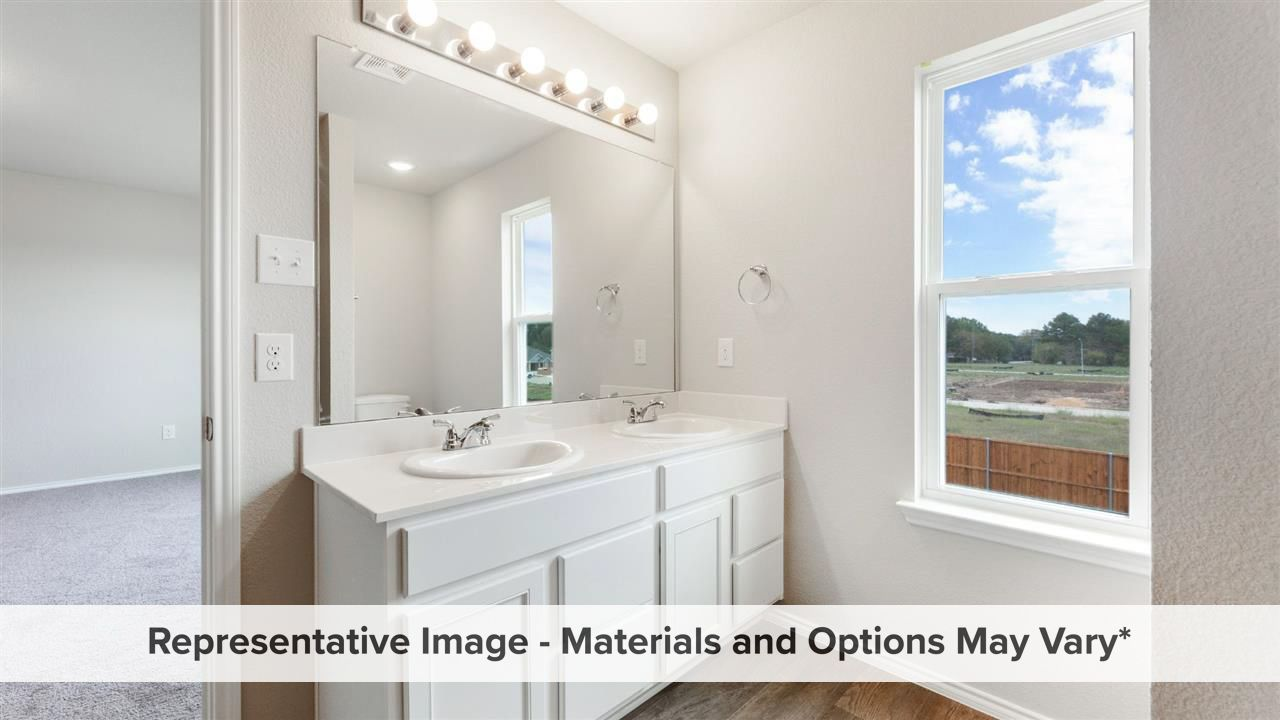 Bathroom featured in the Magnolia By HistoryMaker Homes    in Fort Worth, TX