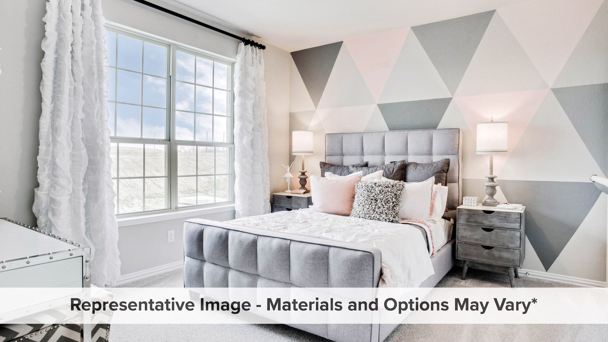 Bedroom featured in the Ironwood By HistoryMaker Homes    in Dallas, TX