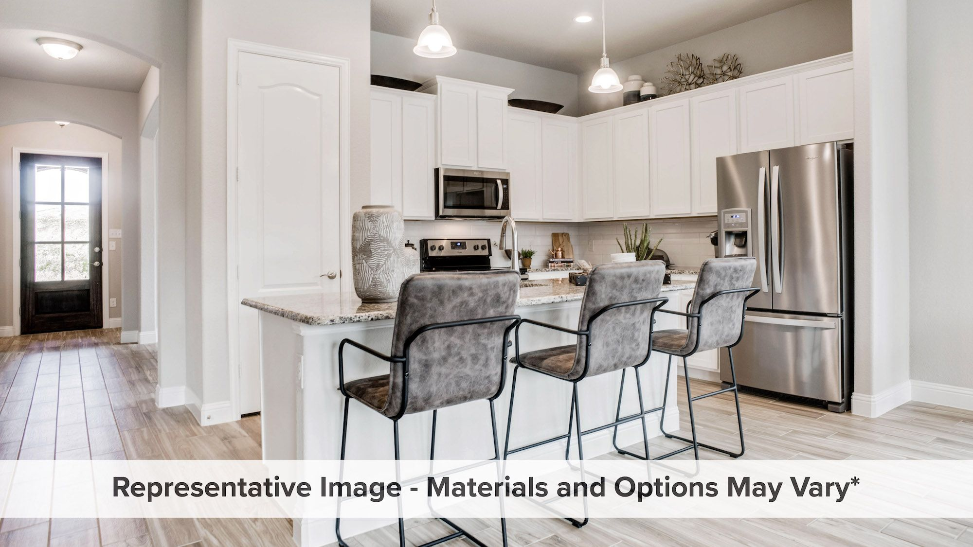 Kitchen featured in the Ironwood By HistoryMaker Homes    in Dallas, TX