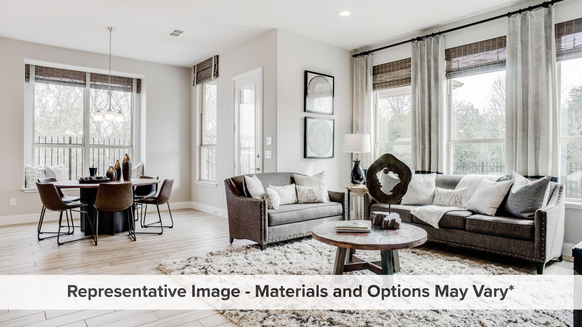 Living Area featured in the Ironwood By HistoryMaker Homes    in Dallas, TX