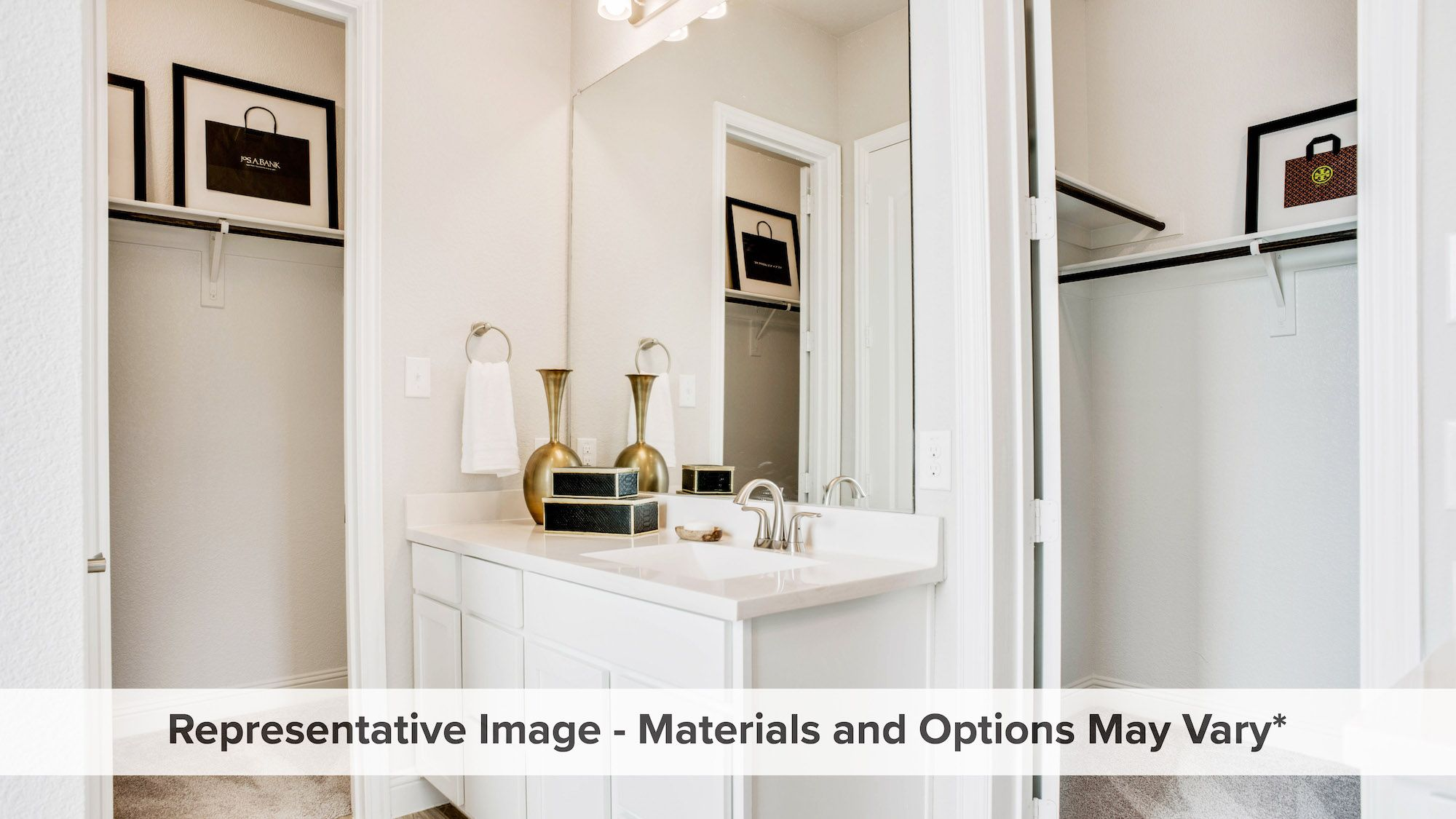 Bathroom featured in the Ironwood By HistoryMaker Homes    in Dallas, TX