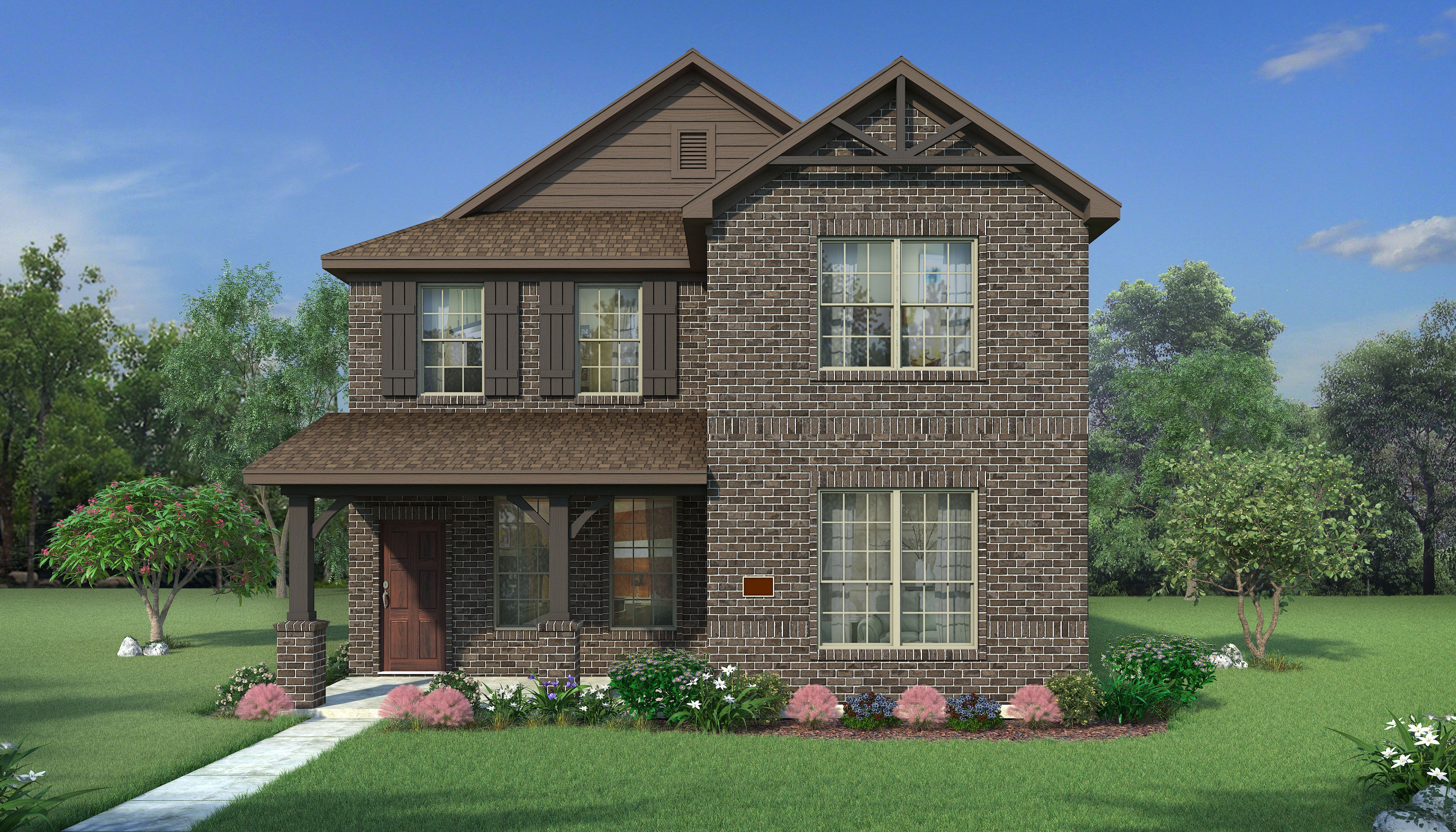 Exterior featured in the Lafayette By HistoryMaker Homes    in Fort Worth, TX