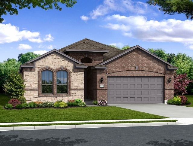 Exterior featured in the Buckingham By Hogan Homes in Corpus Christi, TX