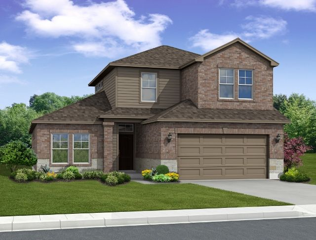 Exterior featured in the Bosque 2 By Hogan Homes in Corpus Christi, TX