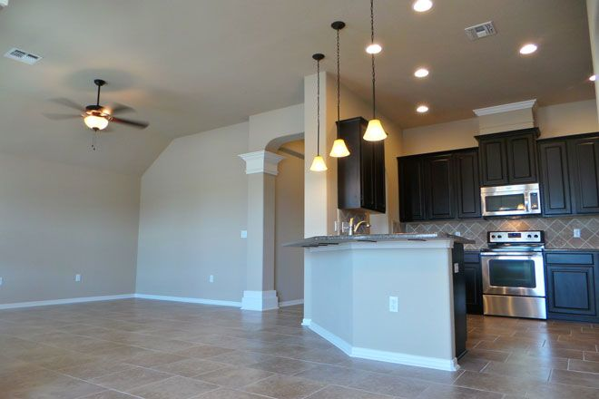 Kitchen featured in the Windsor By Hogan Homes in Corpus Christi, TX